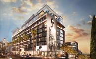 Rendering of Pendry West Hollywood, Los Angeles, California.