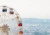 Ferris Wheel overlooking Barcelona