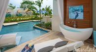 $1,000 Instant Credit: The Royal Seaside Crystal Lagoon Swim-up Suite