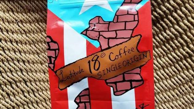 Latotude 18 coffee from Puerto Rico