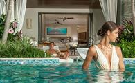 First Night is Free When You Book the Italian Swim up Bi-level Suite
