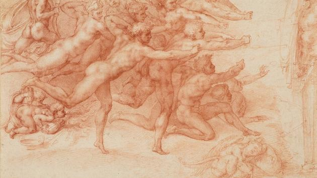 Michelangelo's 'Archers Shooting at a Herm'