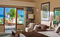 Now Only $298 PP/PN: Greek Honeymoon Beachfront Concierge Terrace Suite Double