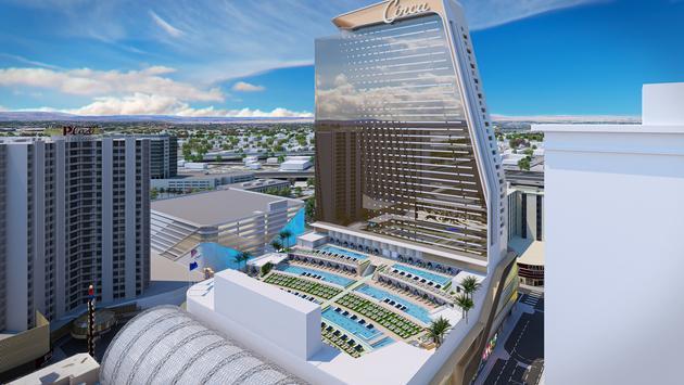 Rendering of the new Circa Resort & Casino in Las Vegas