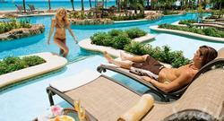 Book Sandals Negril, Jamaica's Swim up Crystal Lagoon Beachfront One Bedroom Butler Suite