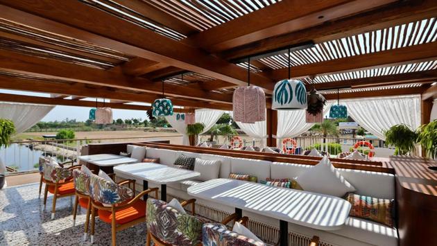 The Chef's Al Fresco Restaurant on the AmaDahlia