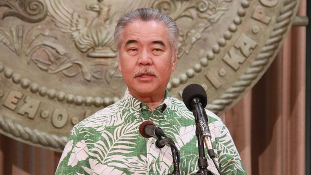 David Ige, Governor of Hawaii.