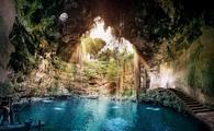 Cenote Ik Kil,Yucatan Mexico
