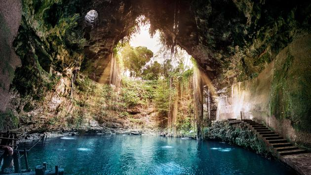 Cenote Ik Kil, Yucatan, Mexico