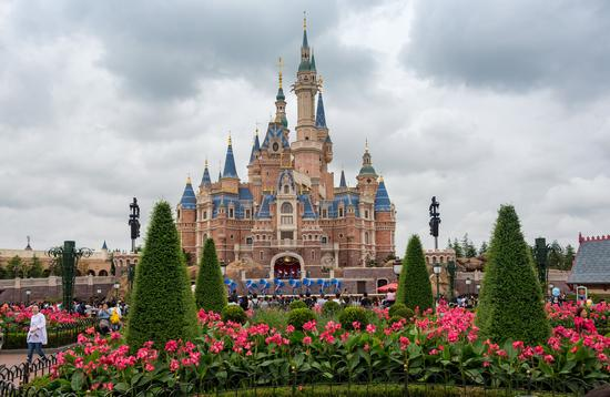 Enchanted Storybook Castle at Shanghai Disney.