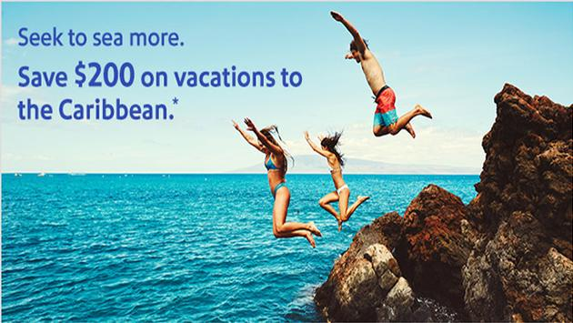 Caribbean Sale – Save $200 on vacations to the Caribbean