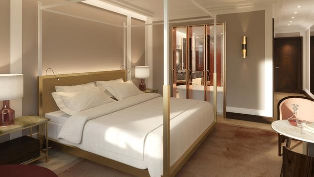 Une suite au Four Seasons Hotel Montreal
