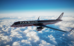 Four Four Seasons; customized 48-seat Airbus
