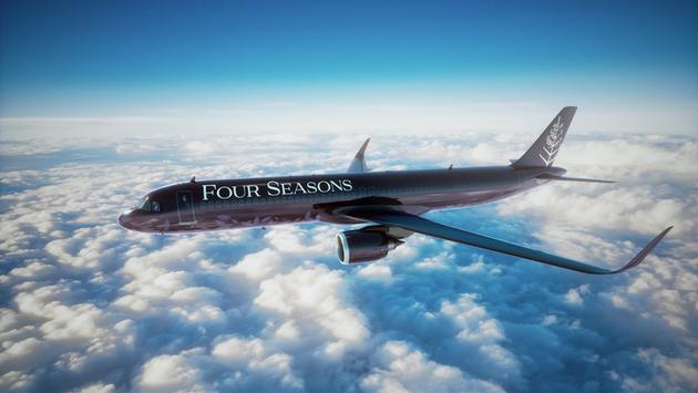 Four Four Seasons; customized 48-seat Airbus