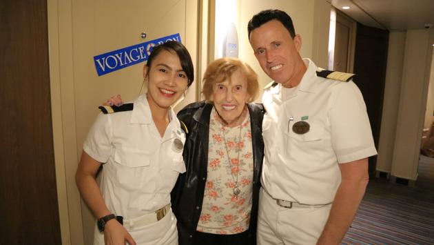 Rose Zelman celebrated her 100th birthday on the Norweigan Epic.