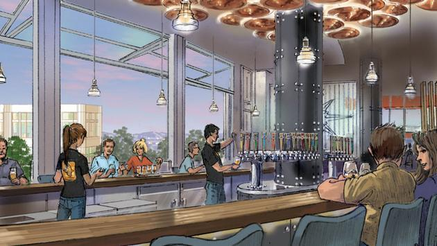 Concept Art For Ballast Point At Downtown Disney District