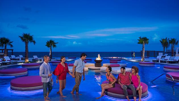 Friends at Breathless Riviera Cancun