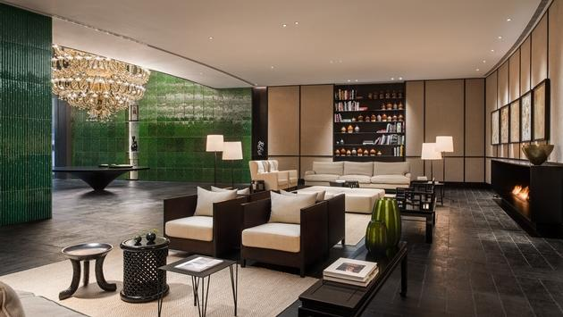 PHOTO: The lobby of Swire's Middle House Hotel in Shanghai. (Michael Weber Photography courtesy of Swire Hotels)