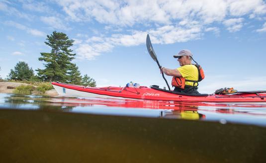 Traveling by Kayak