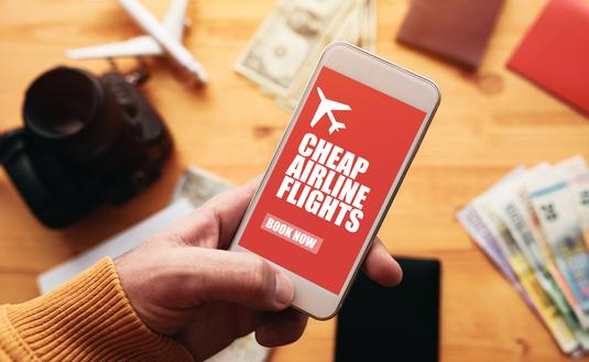 Cheap airline flights online mobile app