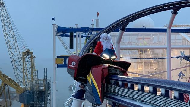 BOLT, billed as the first roller-coaster on a cruise ship