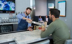Lounge, airport lounge, bar, airport bar