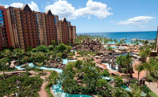 Waikolohe Valley at Disney's Aulani Resort