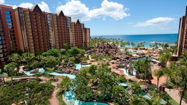 Waikolohe Valley at Disney's Aulani Resort