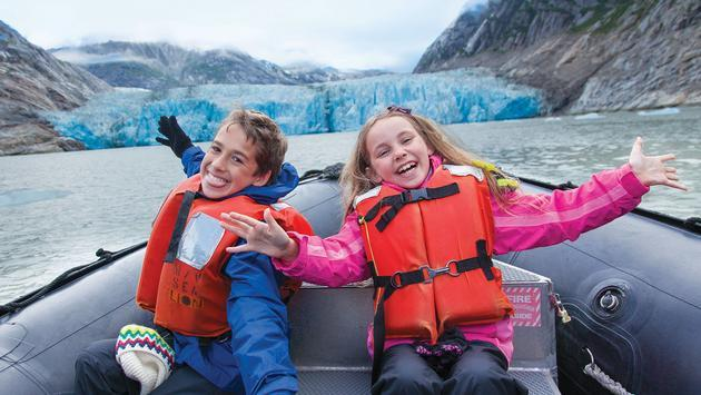 Kids in Alaska with Lindblad Expeditions