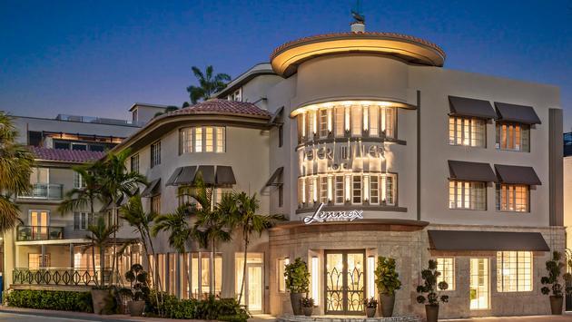 Facade du Lennox Hotel Miami