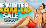 Warm Up Your Winter & Save 45%