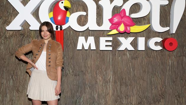 Actress Costanza Andrade at Xcaret Mexico
