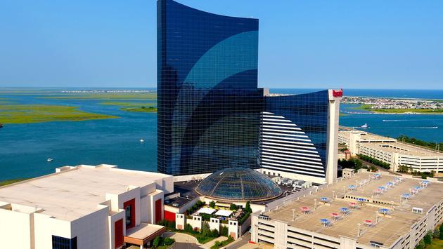 Exterior shot of Harrah's Resort Atlantic City.