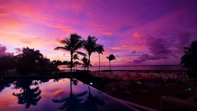 Hilton Barbados sunrise
