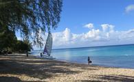 The west coast of Barbados