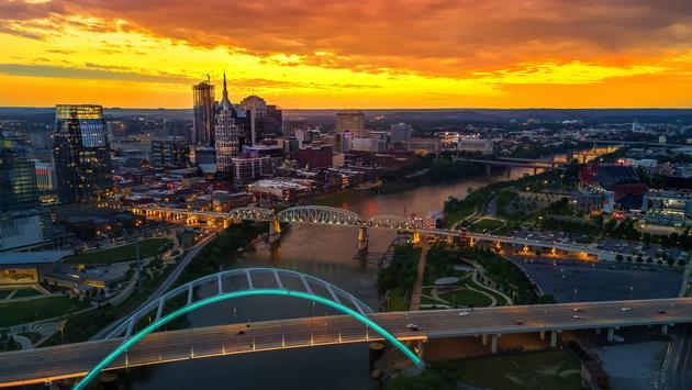 Nashville, Tennessee, Cumberland River