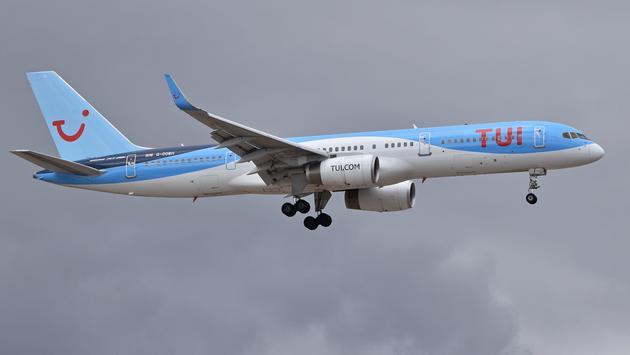 TUI plane