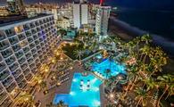 San Juan Marriott Resort & Stellaris Casino, night, puerto rico, hotel