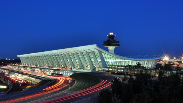 Main Terminal of Washington Dulles International Airport