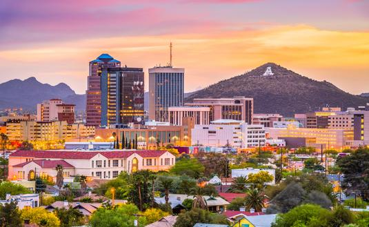 Downtown Tucson, Arizona, Sentinel Peak