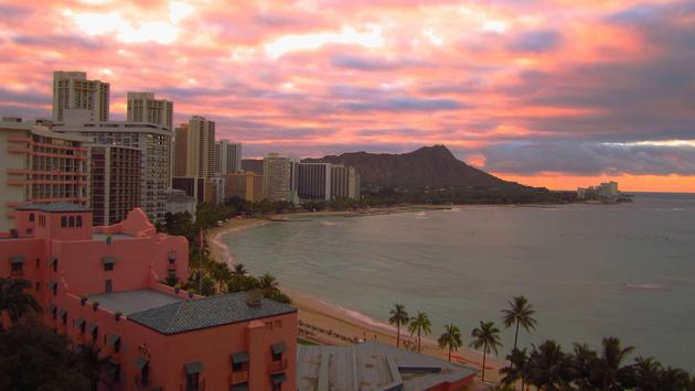 Beachfront hotels in Honolulu