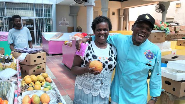 Chef Michael Harrison leads fun food tours of Barbados.