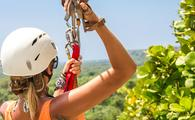 Ziplining in Dominican Republic