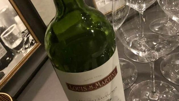 Louis M. Martini wine