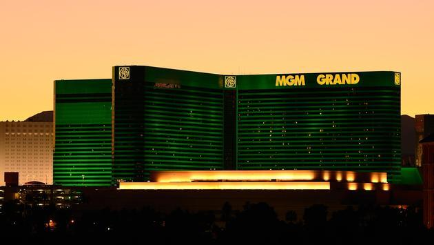 MGM Grand Las Vegas at night