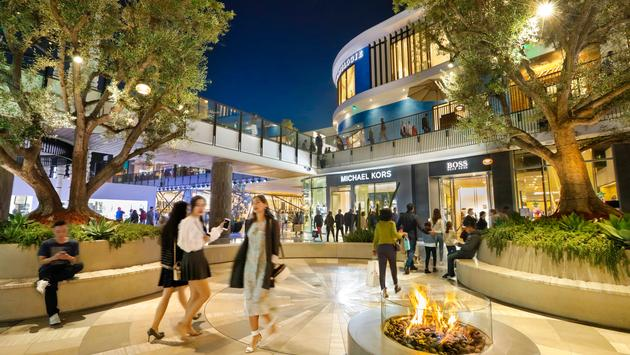 The Westfield Century City mall