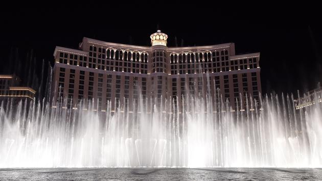 Fountains of Bellagio show
