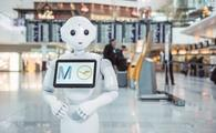 robot, airport, germany