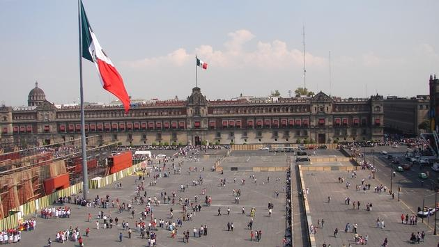 Zocalo, Mexico City's expansive square