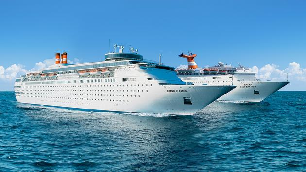 Bahamas Paradise Cruise Line's Grand Classica and Grand Celebration